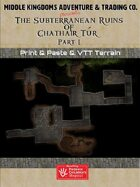 Adventure Map Tiles: The Subterranean Ruins Of Chathair Tur, Part1