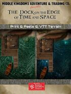 Adventure Map Tiles: The Dock on the Edge of Time and Space