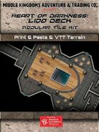 Adventure Map Tiles: Heart of Darkness: Lido Deck