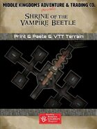 Adventure Map Tiles: Shrine of the Vampire Beetle
