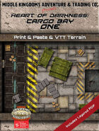 Battle Map -  Heart of Darkness: Cargo Bay ONE