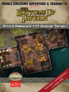 Battle Map -  The Bottoms Up Tavern