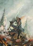 RPG Fantasy Creature, Male, Undead King Warrior