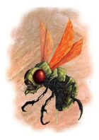 RPG Fantasy Creature, Evil Wasp