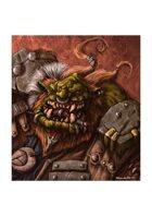 RPG Fantasy Creature, Male, Orc