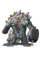 RPG Fantasy Creature, Earth Elemental