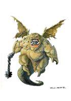 RPG Fantasy Creature, Demon of Hunger