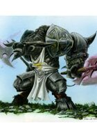 RPG Fantasy Creature, Male, Minotaur