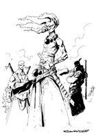 RPG Fantasy Character, Male, Human Samurai