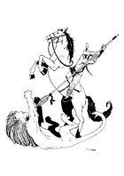 RPG fantasy Character, Male, Human Spartan Warrior
