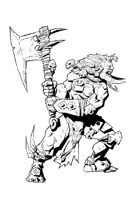 RPG Fantasy Character, Male, Beastman