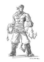 RPG Fantasy Character, Male, Human Pirate