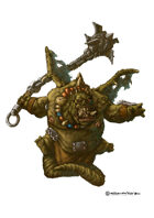 RPG Fantasy Creature, Demon of Hunger 02