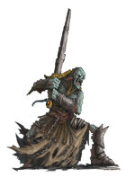 RPG Fantasy Creature, Undead Warrior