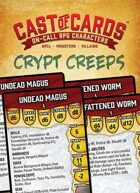 Cast of Cards: Crypt Creeps (Fantasy)