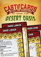 Cast of Cards: Desert Oasis (Fantasy)
