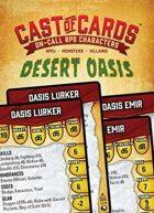 Cast of Cards: Desert Oasis (Fantasy)