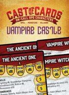 Cast of Cards: Vampire Castle (Fantasy)