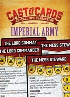 Cast of Cards: Imperial Army (Fantasy)