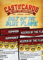 Cast of Cards: Cult of the Blue Flame (Fantasy)