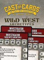Cast of Cards: Wild West Archetypes (Modern)