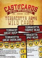 Cast of Cards: Terracotta Army Wild Cards (Fantasy)