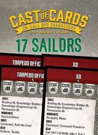 Cast of Cards: 17 Sailors (Modern)