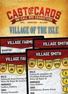 Cast of Cards: Village of the Isle (Fantasy)