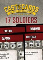 Cast of Cards: 17 Soldiers (Modern)
