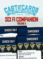 Cast of Cards: Science Fiction Companion, Vol. 4