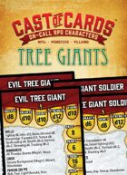 Cast of Cards: Tree Giants (Fantasy)