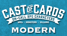 Cast of Cards: Modern