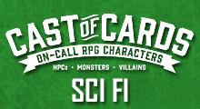 Cast of Cards: Sci Fi
