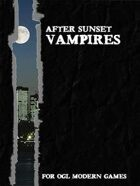 After Sunset: Vampires