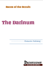 Races of the Occult: Darinum