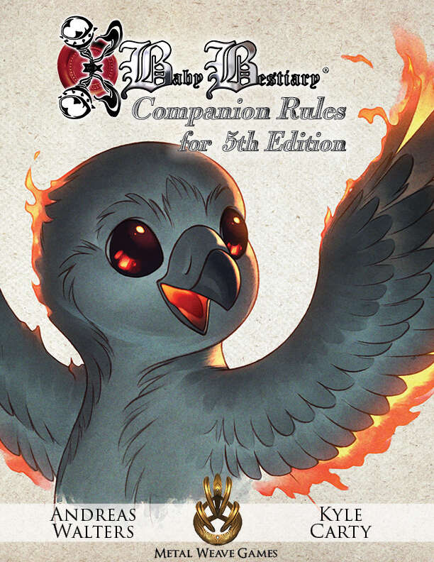 Baby Bestiary 5e Beast Companion - Metal Weave Games | Baby