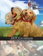Baby Bestiary 2019 Calendar (PDF Pre-Order)