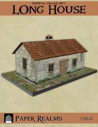Medieval Village Set 1 - Long House