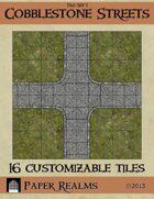 Tile Set 1 - Cobblestone Streets