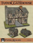 Medieval Village Set 2 - Tudor Gatehouse