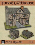 Medieval Village Set 2 - Tudor Gatehouse