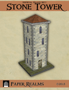 Medieval Village Set 1 - Stone Tower