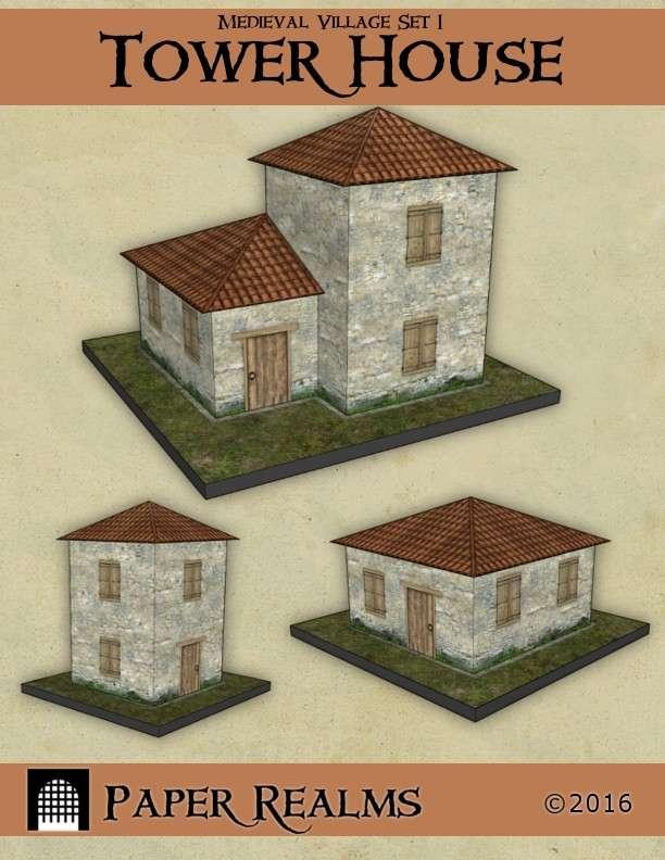 Medieval Village Set 1 - Tower House