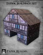 Paper Realms Tudor Building Set
