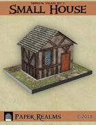 Medieval Village Set 2 - Small House