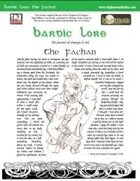 Bardic Lore: The Fachan