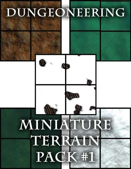 *Dungeoneering Presents* Miniature Terrain Pack #1