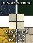 *Dungeoneering Presents* Miniature Terrain Pack #2