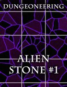 *Dungeoneering Presents* Alien Stone Map Pieces (Purple)