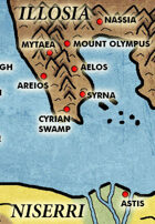 Mythic: Map of the Known World